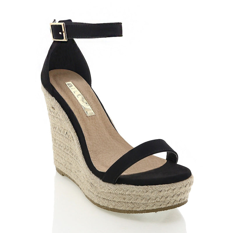 Billini Solange Wedge - Nude Nubuck