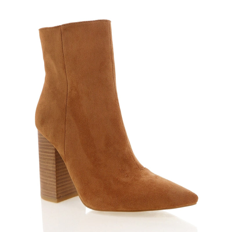 Billini Tio Chestnut Boot - Suede