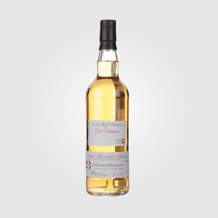 a d rattray_scotch single malt speyside whisky_auchroisk 23 year old 1993 cask collection_drunken stork