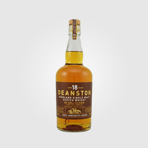deanston_scotch single malt highlands whisky_deanston 18 year old_drunken stork