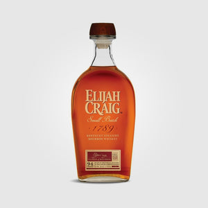 elijah craig_usa blended whiskey bourbon_elijah craig small batch_drunken stork