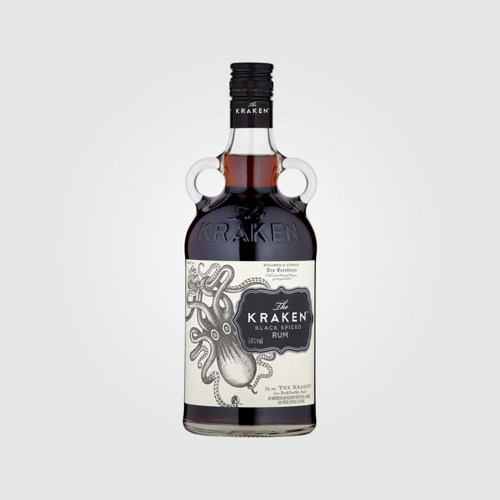 the kraken_rum_black spiced rum_drunken stork