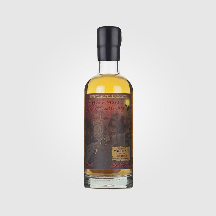 that boutique-y whisky company_scotch single malt speyside whisky_mortlach 18 year old_drunken stork