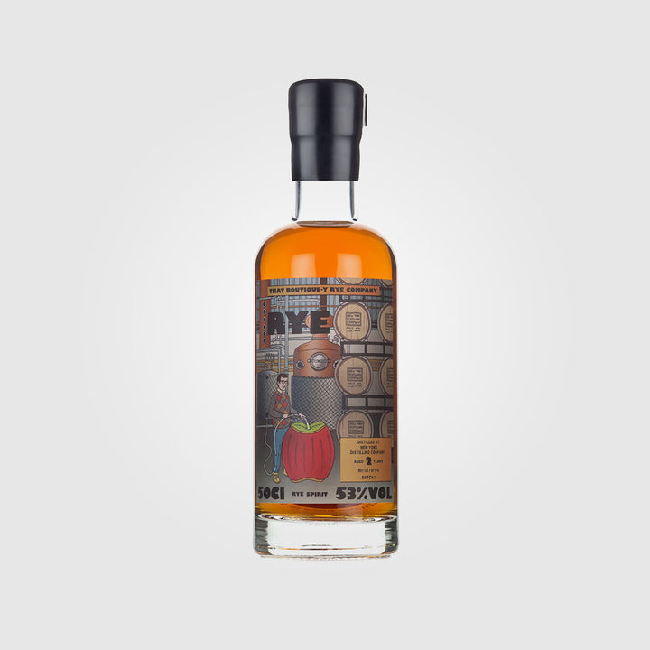 that boutique-y whisky company_new york usa rye_nydc rye 2 year old_drunken stork