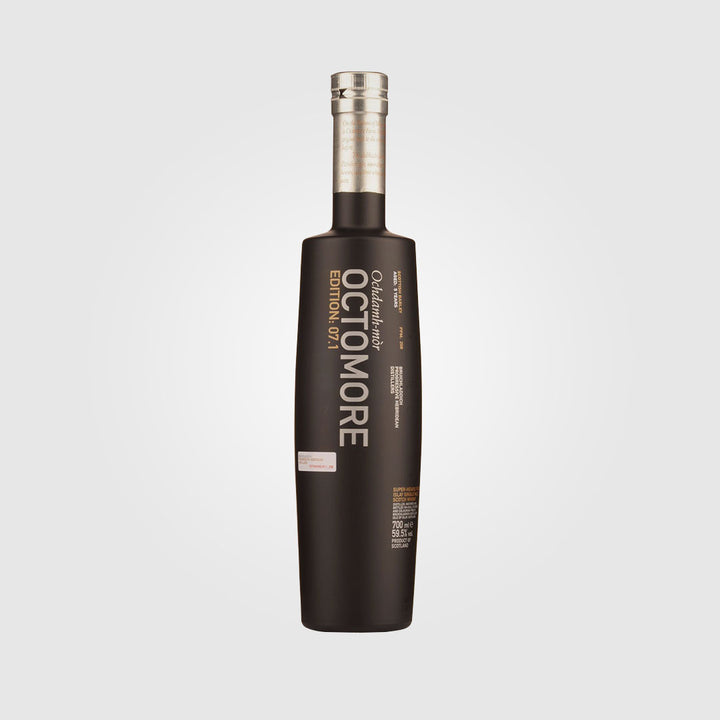 bruichladdich_scotch islay single malt whisky_octomore 07.1 - 5 year old_drunken stork