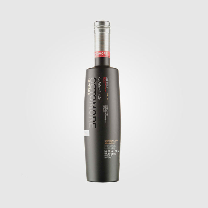 bruichladdich_scotch islay single malt whisky_octomore 10 year old 2006 second limited edition_drunken stork