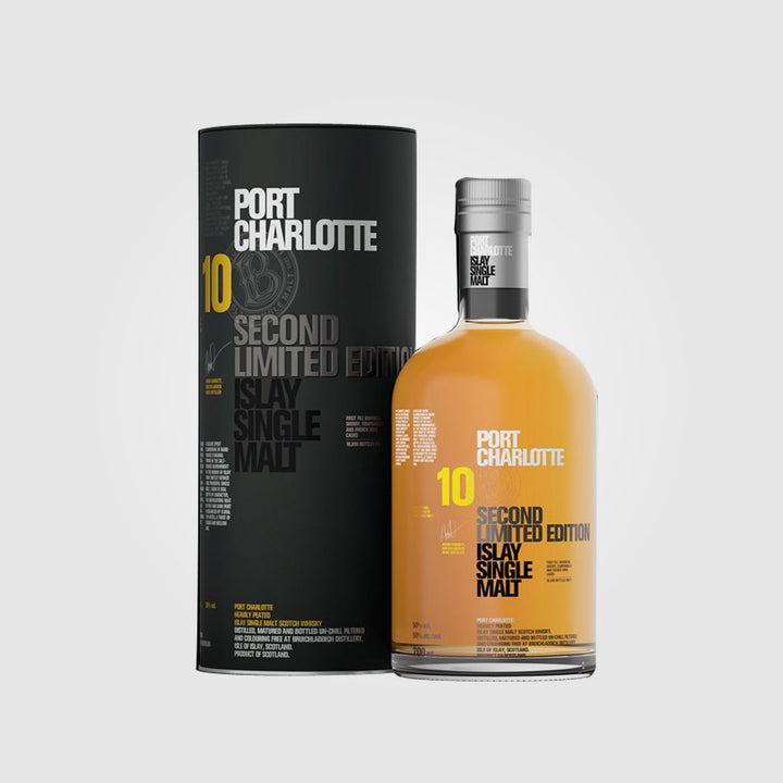 bruichladdich_scotch islay single malt whisky_port charlotte 10 year old 2006 limited edition_drunken stork