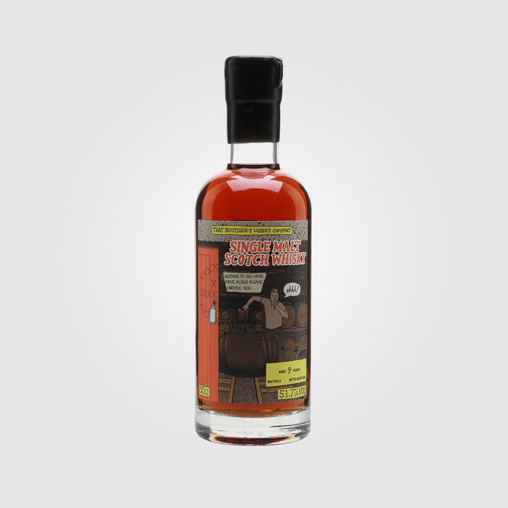 that boutique-y whisky company_scotch single malt speyside whisky_secret distillery #1_drunken stork