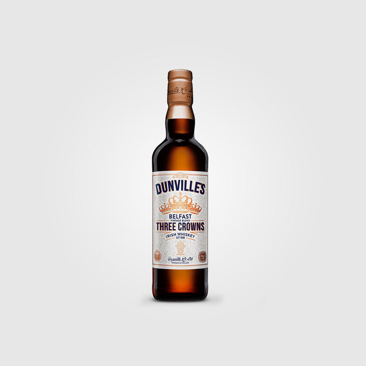 dunville's_irish belfast blended whiskey_three crowns peated whiskey_drunken stork