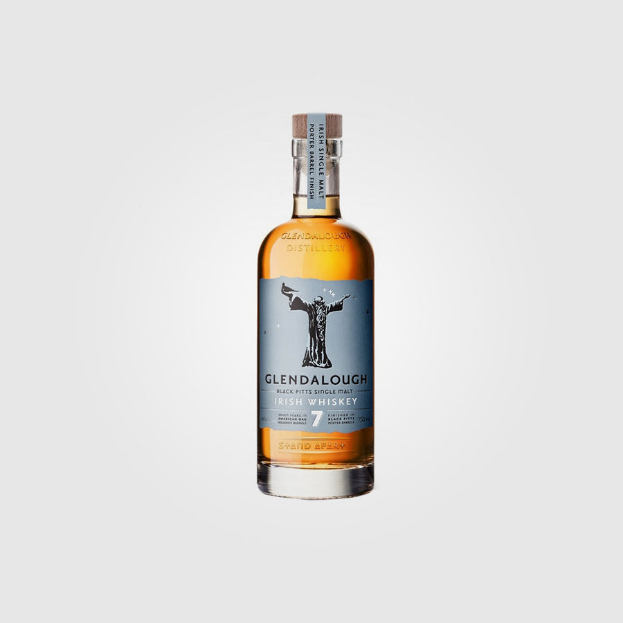 glendalough_irish wichlow single malt whiskey_glendalough craft porter cask finish 7 years old_drunken stork