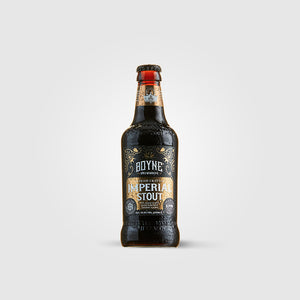 boyne brewhouse_stout craft irish beer_imperial stout sherry cask_drunken stork