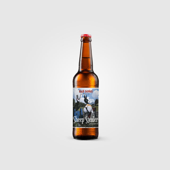 black donkey brewing_saison craft irish beer_sheep stealer saison_drunken stork