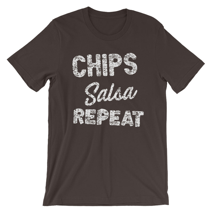 Chips Salsa Repeat T-Shirt