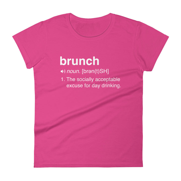 Funny brunch definition t-shirt