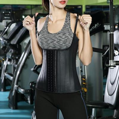 Plus Size Boned Adjustable Strap Vest Shapewear