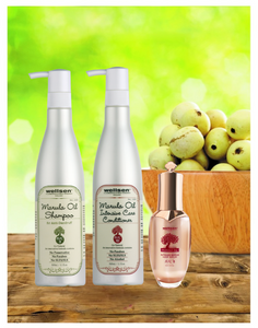 Wellsen Marula Oil Anti-Dandruff Shampoo + Intensive Care Conditioner + Intense Repair Hair Serum(MAC 3+ MAC1D+ MAC 8)