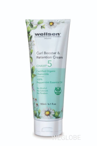 CHAMP  5 - Wellsen Chamomile and Peppermint Curl Booster & Retention Cream