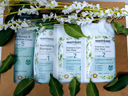 [PROMOTION] Wellsen CHAMP 5 Hair Care Collection for Soothing and Reduce feelings of anxiety