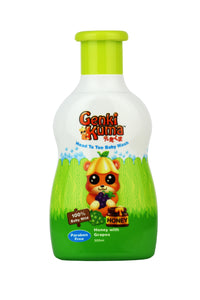 Genkikuma Baby Head to Toe Wash - Honey with Grapes