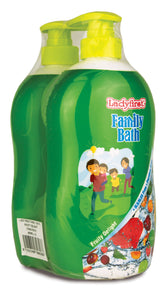 Ladyfirst Family Bath Fruity Delight Twin Pack
