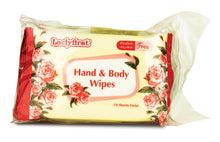 Ladyfirst Hand & Body Wipes