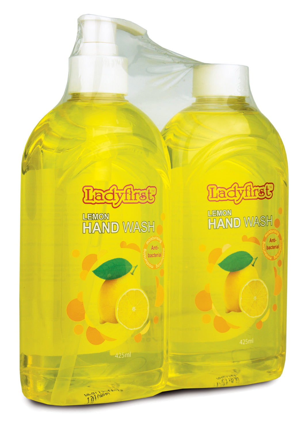 Ladyfirst Handwash Lemon Twin Pack