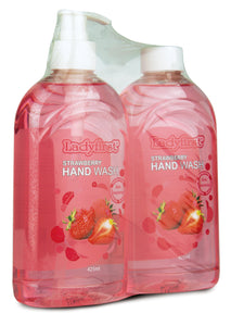 Ladyfirst Handwash Strawberry Twin Pack