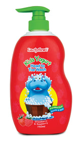 Ladyfirst Kids Yogurt Head To Toe Strawberry & Raspberry