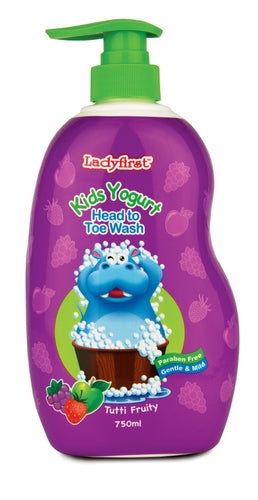 Ladyfirst Kids Yogurt Head To Toe Tutti Fruity