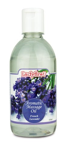 Ladyfirst Aromatic Massage Oil French Lavender