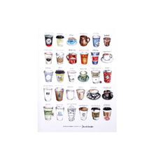 "Load image into Gallery viewer, ""30 Days of Drinks"" Artwork"