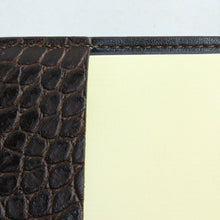Load image into Gallery viewer, Croc Embossed Leather Journal