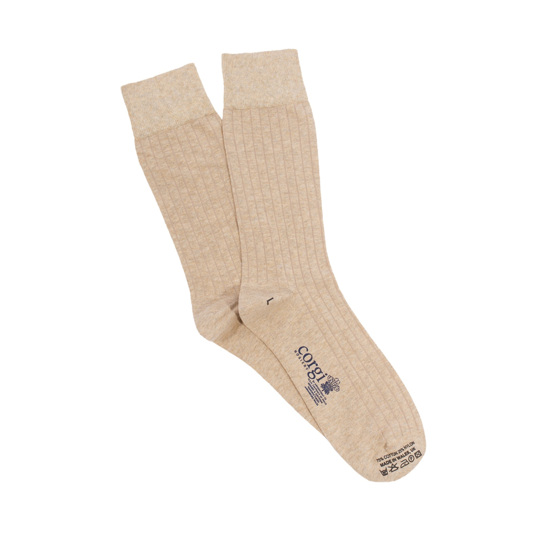 Cotton Natural Socks