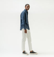 Load image into Gallery viewer, Blue Linen Shirt