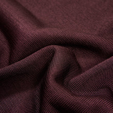Load image into Gallery viewer, Yuri & Yuri London polo knit shirt Bordeaux  serie fabric