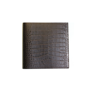 Croc Embossed Leather Journal