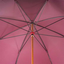 Load image into Gallery viewer, Umbrella with Braided Leather Handle