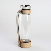 Load image into Gallery viewer, Thermal Carafe with Leather Tray