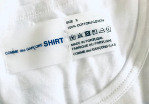 CDG x Sunspel T-shirt