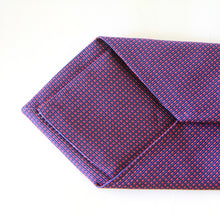 Load image into Gallery viewer, Navy Dotted Tie
