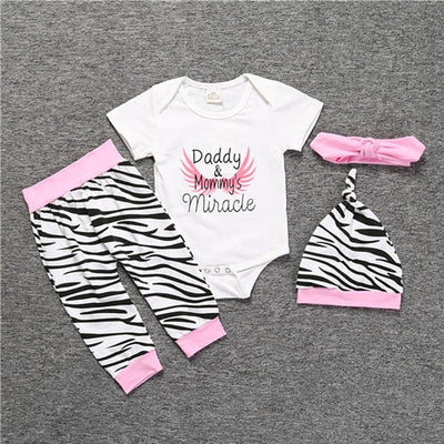 Miracle Baby Girls 4Pcs