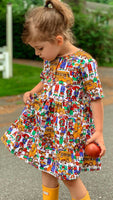 Back to School with Busses - Dress