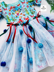 Christmas dress ( tulle, bows)