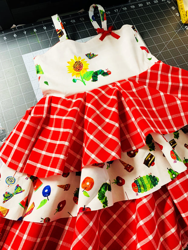 Hungry CP Dress ( triple skirts)