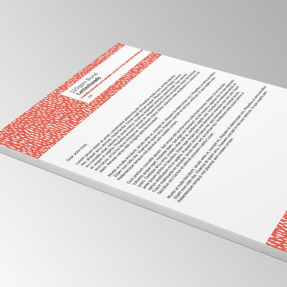 Letterheads - Colour Cloud