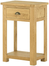 Load image into Gallery viewer, Binbrook 1 Drawer Console Table - Oak