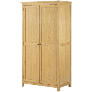Binbrook 2 Door Wardrobe - Oak