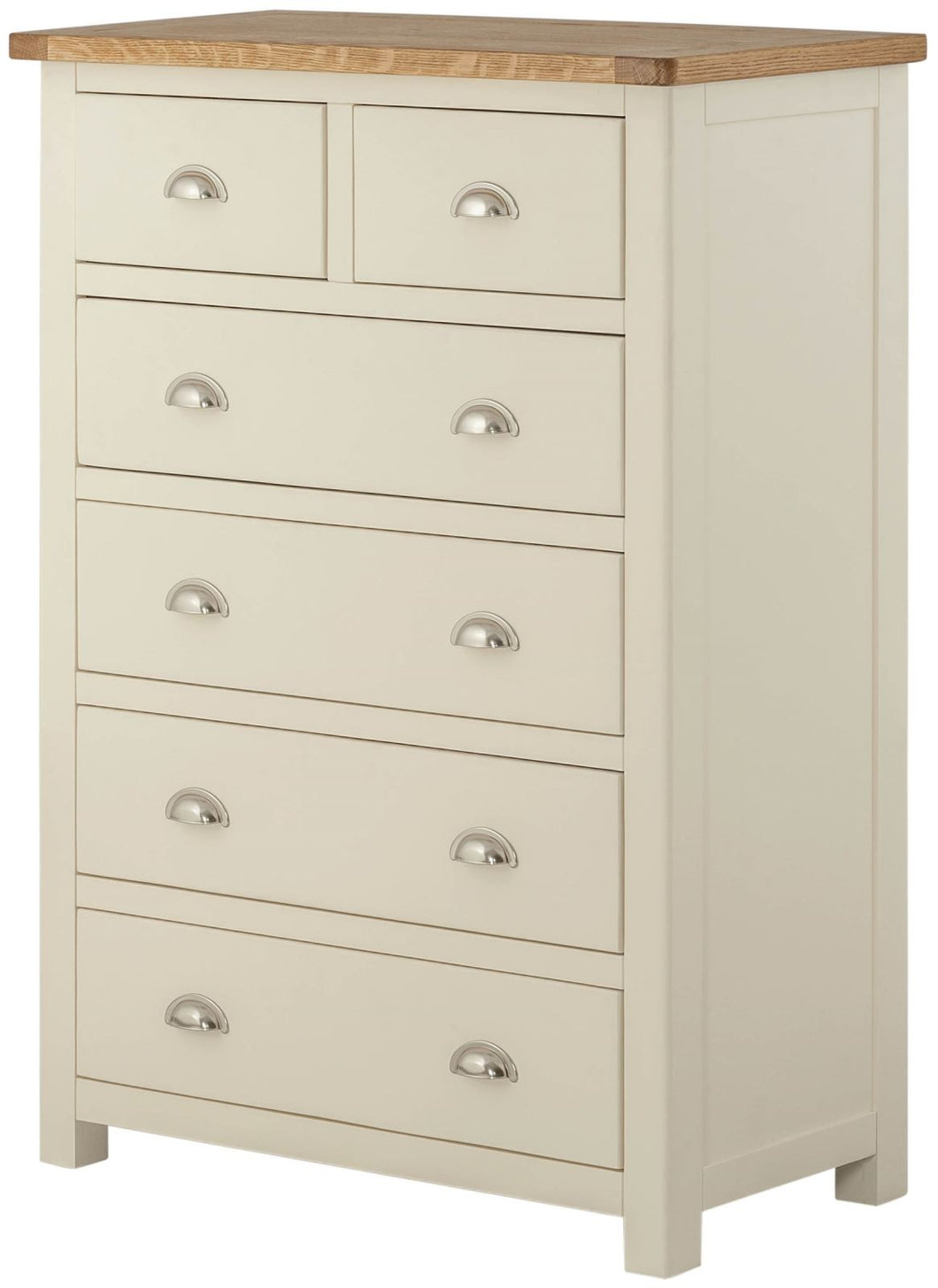Binbrook 2 over 4 Drawer Chest - Painted