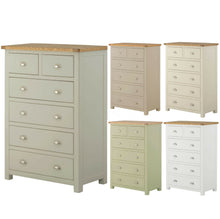 Load image into Gallery viewer, Binbrook 2 over 4 Drawer Chest - Painted