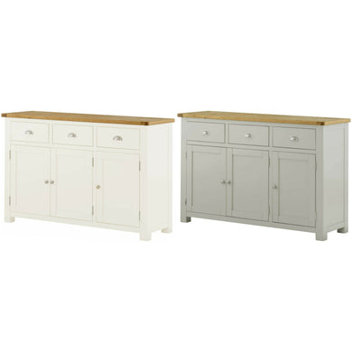 Binbrook 3 Door Sideboard - Painted